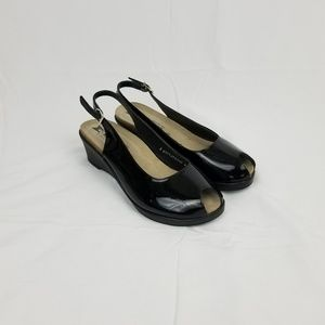 Mephisto Patent Leather Wedges 9.5/10